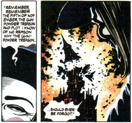 from V for Vendetta by Alan Moore (1988)